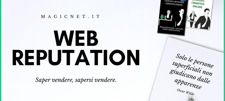 WEB REPUTATION identità online