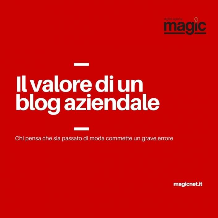 il valore del blog aziendale