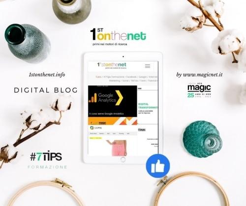 digital blog